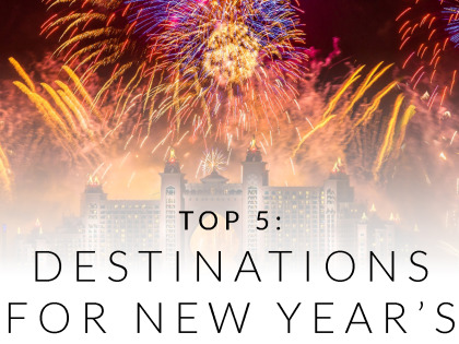 Top 5: Destinations for New Year's