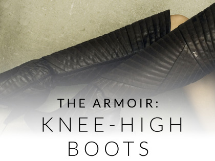 The Armoir: Knee-High Boots